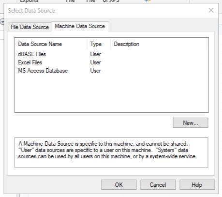 Select a datasource